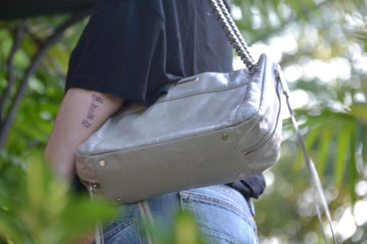 Rebbecca Minkoff Leather and chain Bag