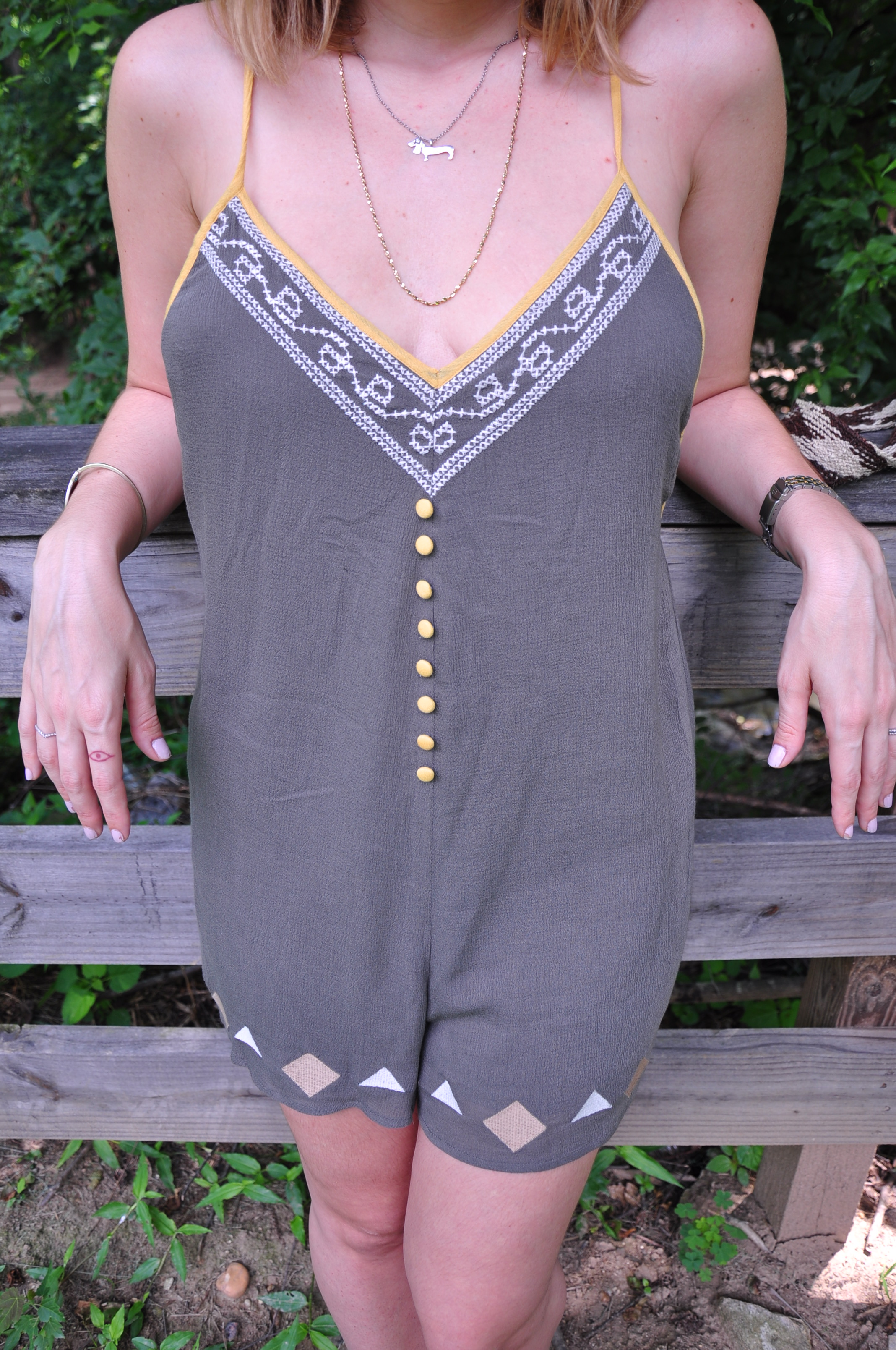 Orchids and Spice Romper