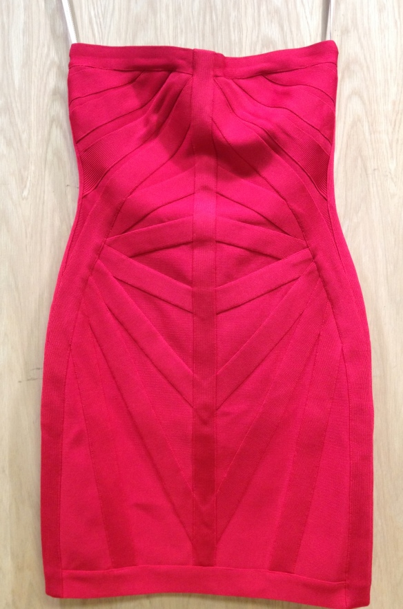 Herve Leger Badage Dress